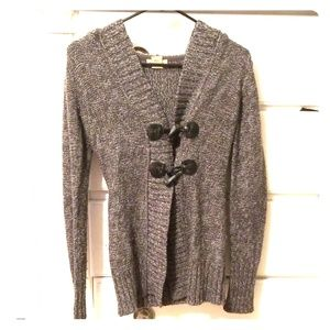 Soft, long sleeve, hoodie sweater